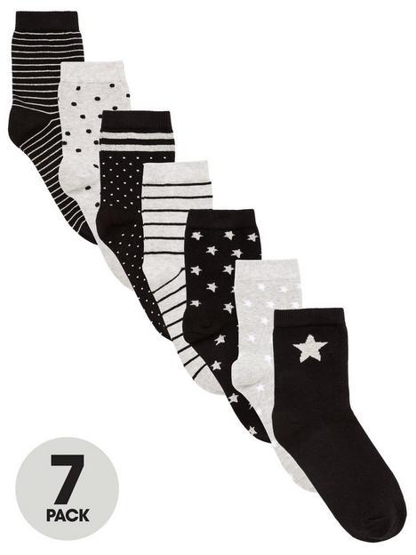v-by-very-girls-7-pack-starstripesspots-lurex-socks-blackgrey