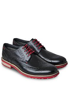 joe-browns-red-flash-sole-brogues