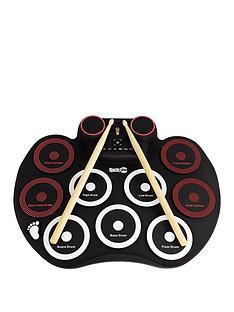 rockjam-bluetooth-roll-up-drum-kit