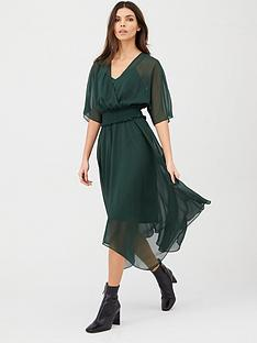 v-by-very-shirred-waist-woven-dress