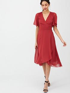 v-by-very-soft-wrap-woven-dress-wine
