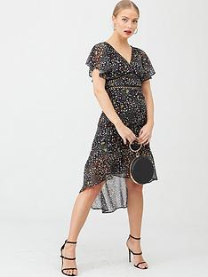 v-by-very-lace-trim-woven-midi-dress-print