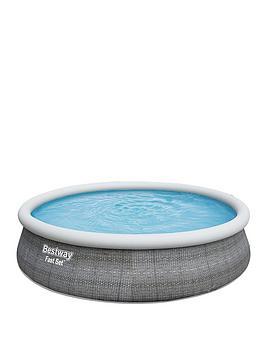 bestway-15ft-fast-set-pool-inc-filter-pump-amp-ladder