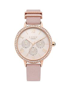 lipsy-lipsy-rose-gold-dial-pink-strap-ladies-watch