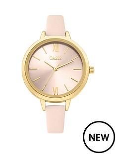 oasis-pink-dial-pink-strap-ladies-watch