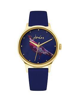 joules-joules-ren-ladies-navy-pheasant-dial-navy-silicone-strap-ladies-watch