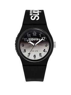 superdry-superdry-urban-laser-silverblack-graduated-dial-black-silicone-strap-unisex-watch