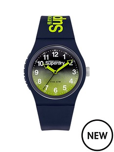 superdry-superdry-urban-laser-navylime-graduated-dial-navy-silicone-strap-unisex-watch