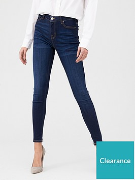 v-by-very-premium-ultrasoft-seed-wash-skinny-jeans-dark-wash