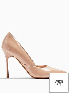 topshop-wide-fit-georgia-high-heel-court-shoes-nude