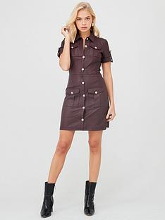 river-island-river-island-faux-leather-shirt-dress-oxblood