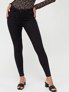 v-by-very-premium-ultrasoft-rinse-wash-skinny-jean-black