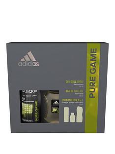 adidas-adidas-pure-game-trio-50ml-eau-de-toilette-deodorant-and-3-in1-wash-gift-set