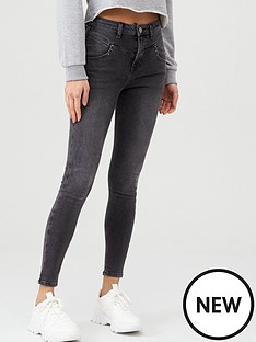v-by-very-ella-rose-yoke-skinny-jean-washed-black