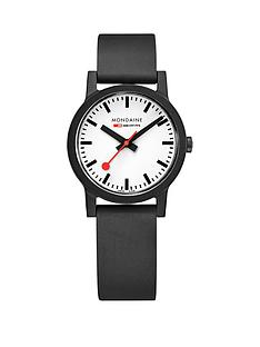 mondaine-mondaine-swiss-made-essence-sustainable-white-and-black-detail-32mm-dial-black-renewable-raw-material-strap-watch