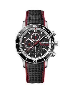 wenger-wenger-swiss-made-roadster-black-night-chronograph-45mm-dial-black-and-red-detail-leather-strap-mens-watch