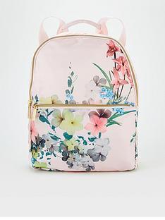 ted-baker-pergola-nylon-foldaway-backpack-pink