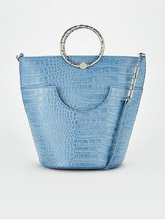 ted-baker-textured-bracelet-handle-bucket-bag-blue