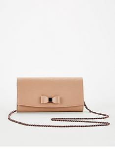 ted-baker-zea-bow-detail-cross-body-matinee-purse-clutch-taupe