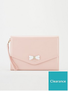 ted-baker-canei-bow-detail-envelope-pouch-dusky-pink