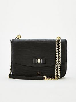 ted-baker-danieel-bow-detail-shoulder-bag-black