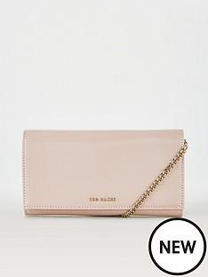 ted-baker-enrici-crinkle-patent-cross-body-matinee-bag-dusky-pink