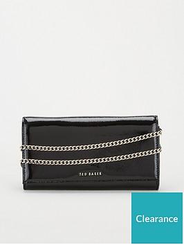 ted-baker-enrici-crinkle-patent-cross-body-matinee-bag-black