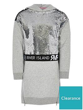 river-island-girls-sequin-embelished-jumper-dress-grey