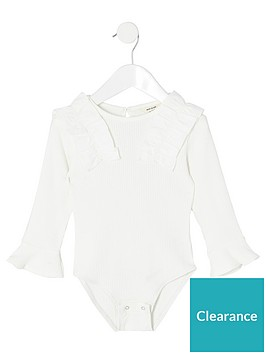 river-island-mini-mini-girls-frill-bodysuit-white