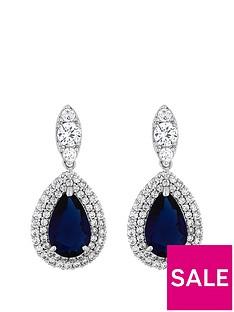jon-richard-jon-richard-cubic-zirconia-baguette-navette-sapphire-pear-drop-earring