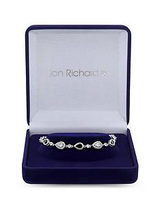 jon-richard-jon-richard-cubic-zirconia-tennis-pear-crystal-allway-bracelet