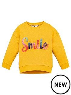 v-by-very-girls-smile-ruffle-sweat-mustard