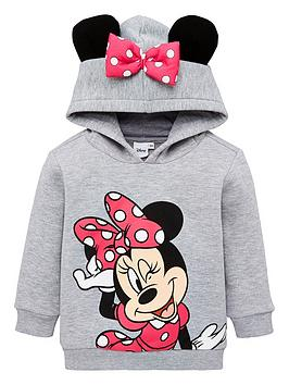 minnie-mouse-girls-minnie-mouse-ears-overhead-hoodie-grey-marl