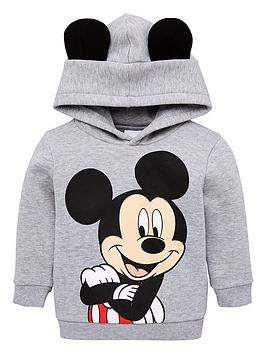 mickey-mouse-boys-ears-overhead-hoodie-grey-marl