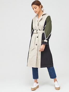 v-by-very-colour-block-trench-coat-stone
