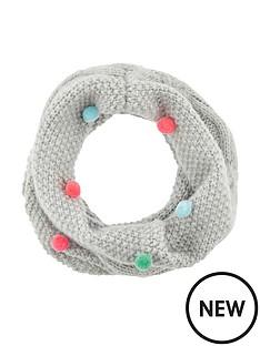 accessorize-multi-mini-pom-pom-snood-grey