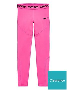 nike-pro-older-girls-training-leggings-pink