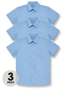 v-by-very-boys-3-pack-short-sleeved-school-shirt-blue