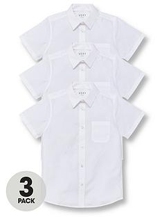 v-by-very-boys-3-pack-short-sleeved-school-shirt-white