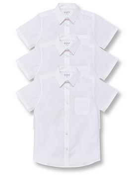 v-by-very-boys-3-pack-short-sleeved-school-shirt-white