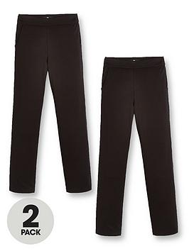 v-by-very-girls-2-pack-jersey-school-trousers-black