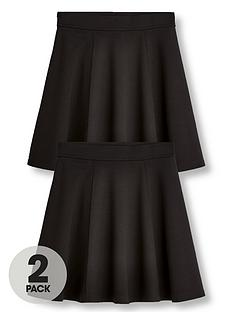 v-by-very-girls-2-pack-jersey-school-skater-skirts-black