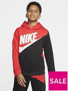 nike-sportswear-older-boys-amplify-overhead-hoodie-redblack