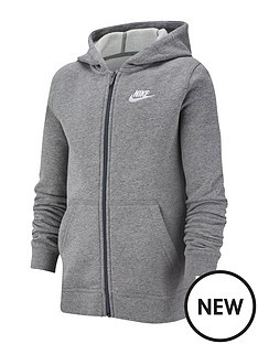 nike-nsw-older-boys-club-full-zip-hoodie--nbspgrey-heather
