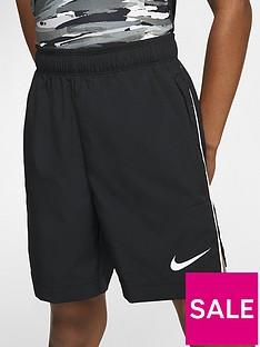 nike-sportswear-older-boys-woven-training-shorts-black