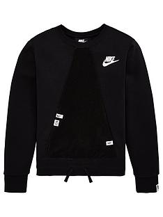 nike-sportswear-older-girls-heritage-crew-neck-sweat-black