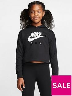 nike-sportswear-air-older-girls-overhead-cropped-hoodie-black