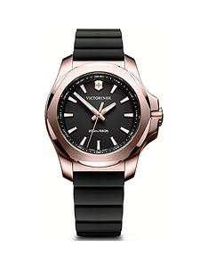 victorinox-victorinox-swiss-made-inox-v-black-200m-sapphire-glass-dial-rose-gold-stainless-steel-37mm-case-removable-shield-black-rubber-strap-watch