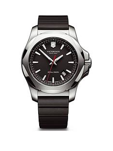 victorinox-victorinox-swiss-made-inox-200m-black-sapphire-glass-date-dial-43mm-polished-stainless-steel-case-removable-bumper-with-black-rubber-strap-watch
