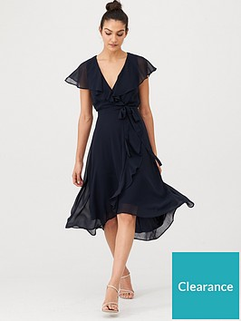 v-by-very-nova-cape-wrap-dress-dark-navy